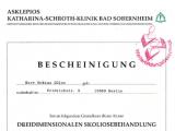 3D Skoliosebehandlung nach K. Schroth, 2000