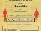 Grundlagen der Sportphysiotherapie, 2000