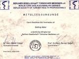 Mitglied der Berliner Gesellschaft Türkischer Mediziner e.V., 2010
